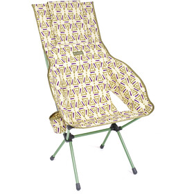 Helinox Savanna Chaise, triangle green/green